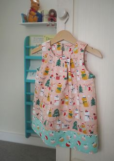 Baby Sophias Christmas Dress - Guthrie & Ghani