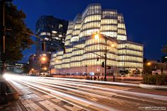 IAC Building, New York City,  by architect Frank Ghery