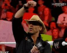 He's hittin the sauce again    #wrestling #wwe #raw #shawn #michaels #gif