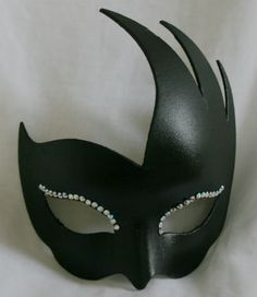 Unique masquerade mask in black with crystal accents to the eyes.Designed and crafted by British mask designer and unique to Magical Masquerade Halloween Masked Ball, Halloween Masks, Black Masquerade Mask, Venetian Masks, As You Like, Swarovski Crystals, Hair Beauty, Fancy, Gifts