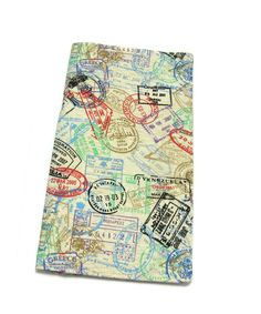 Passport Stamps Travel Wallet. $25.00, via Etsy.