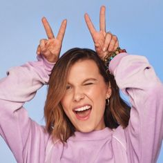 Apr 2020 - The third season of Stranger Things has recently landed on Netflix and we thought, for the occasion, to gather in this article some interesting facts about the actress Millie Bobby Brown AKA Eleven, considered Millie Bobby Brown, Bobby Brown Stranger Things, Browns Fans, Enola Holmes, Dove Cameron, Best Actress, Clean Beauty, Natural Beauty, Bobbi Brown