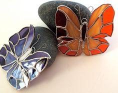 Stained Glass Baby Butterfly Sun Catcher by jpcountrymarket