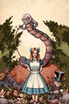 John Cassaday - Alice in Wonderland