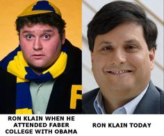 Obama gives frat boy Ron Klain a title, the Ebola Czar