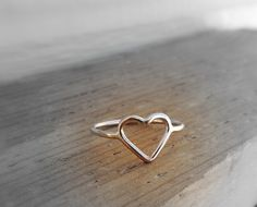 Hey, I found this really awesome Etsy listing at http://www.etsy.com/listing/73922658/heart-ring-gold-heart-ring-golden-heart
