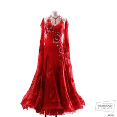 Chrisanne - Red Dress