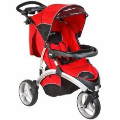 Dream On Me / Mia Moda Energi Full Size Stroller, Rosso The CPSC Certified Energi stroller is an ultra-sleek stroller designed for an ultra-active Ferrari, Jogging Stroller, Our Baby, Baby Gear, Baby Strollers, Cool Stuff, Children, Black Friday, Counter