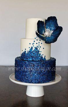 Cake Wrecks - Sunday Sweets- made by SB Cake Design Beautiful Wedding Cakes, Gorgeous Cakes, Pretty Cakes, Amazing Cakes, Sequin Cake, Cake Wrecks, Wedding Cake Inspiration, Wedding Ideas, Elegant Cakes