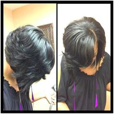 Layered bob- thinking about it...