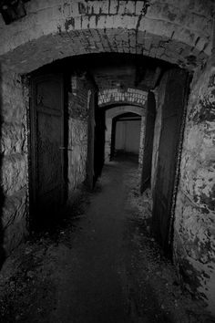 The haunted tunnels under Danvers State Mental Hospital in Danvers, Massachusetts.