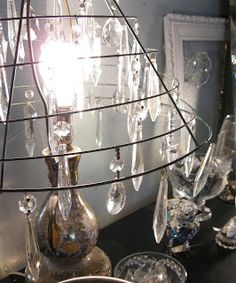 Get a little sparkly with loose prisms from Sisters Garden.