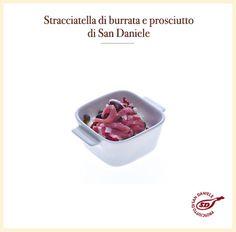 #stracciatella di #burrata e #prosciutto #sandaniele http://www.prosciuttosandaniele.it/home_prosciuttosandaniele.php?n=403&l=it