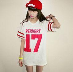 Camiseta Pervert 17