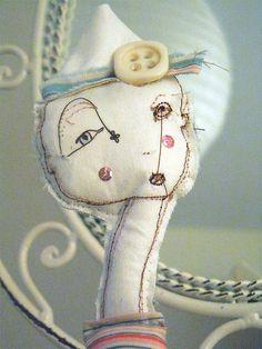 Art Doll - soft sculpture