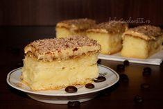 prăjitură cu cremă de vanilie si spumă de ness reteta - Farfuria colorată