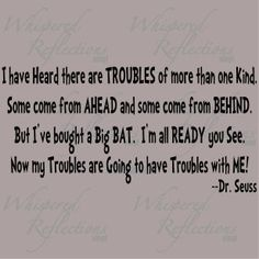 """Dr. Seuss - - """"I Had Trouble In Getting To Solla Sollew"""""""