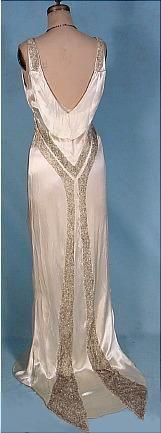 Original '30s dress.