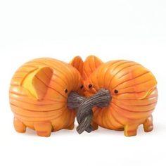 Enesco Home Grown Pumpkin Elephants Figurine, Halloween Pumpkins, Fall Halloween, Happy Halloween, Halloween Decorations, Halloween Stuff, Scary Circus, Pumpkin Contest, Pumpkin Ideas, Pumpkin Designs