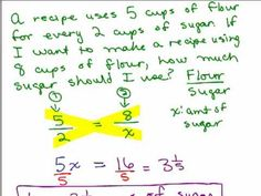 Solving Word Problems using Proportions 1 - check out the first and last example Teaching 6th Grade, Teaching Math, Algebra Help, Ratios And Proportions, Math 8, Math Boards, Math Word Problems, Common Core Math, Problem And Solution