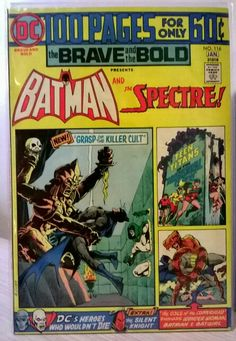 The Brave and the Bold No.116, Batman & The Spectre. 100 Pages. DC Comics.