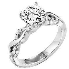 Gabriella ArtCarved Diamond Engagement Ring | Artcarved | Scott Kay | Danhov Engagement Rings | JR Jewelers