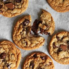 Melt & Mix Chocolate Chip Cookies-Your source of sweet...