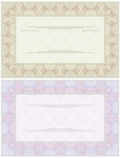 Blank Certificate  Blank Certificate