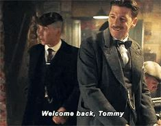 welcome back tommy