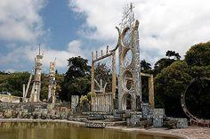 Jardim da Água, Caldas da Rainha Ceramic Park, created by Ferreira Silva