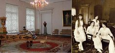 Then and now at Alexander Palace