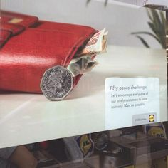 Lidl's Response To Sainsbury's 50p Challenge Poster Is Perfect