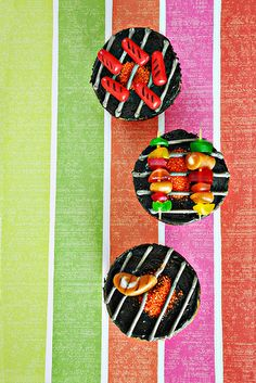 Grill Cupcakes | Cook Like A Champion
