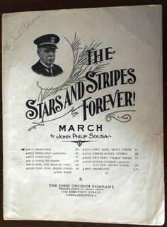 The Stars and Stripes Forever John Philip by KingsMusicNBooks