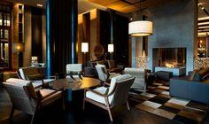 Blue / gold / lounge