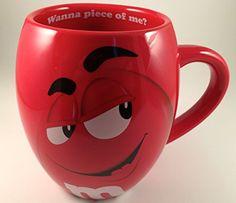 M&M's Big Face Ceramic Mugs (Red) m&m m & m M & M's http://www.amazon.com/dp/B009QTCMR0/ref=cm_sw_r_pi_dp_bVEKvb0Y958K0