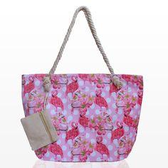 f4c5f42c3b4 Плажни Чанти с Портмоне и Фламинго - Damski.bg