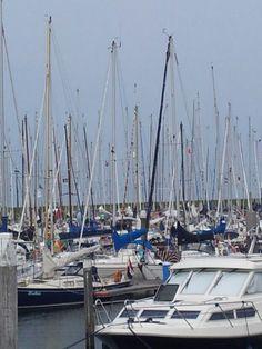Jachthaven van Oudeschild op Texel