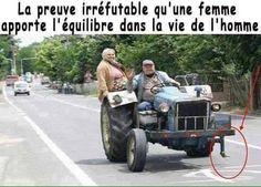 La femme est vraiment indispensable.