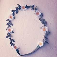 for my inner hippy - flower headband