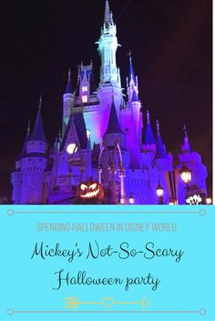 Thinking about spending Halloween at Disney World? Check out my guide to Mickey's Not-So-Scary Halloween Party! You'll have a spooky good time.