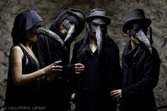 Plague Doctors by Dwam | featuring Adeline Rapon, Tony Stone, Emilia Lombardo and La Garçonnière Censier | +