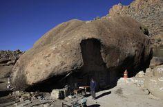 Maison rocher, Mexique.