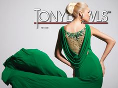 Tony Bowls EveningsJust Green with Envy #formalapproach #prom #emerald