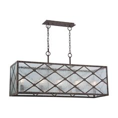 Radley 5 Light Chandelier In Malted Rust