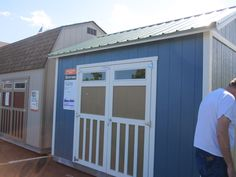 great deal a Home Depot...Tuff shed display model...needed badly to organize