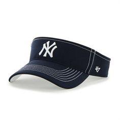 New York Yankees NY Visor '47 Brand Defiance Cap