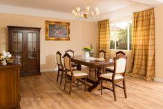 Mobilier Mobila Sufragerie clasica din lemn DOMINUS - aranjament 3 Table, Furniture, Home Decor, Decoration Home, Room Decor, Tables, Home Furnishings, Home Interior Design, Desk