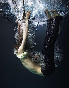 Unter Wasser Foto