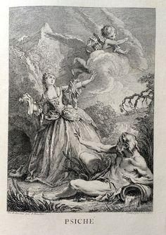 Psiché - Molière - gravé par Laurent CARS d'après François BOUCHER - MAS Estampes Anciennes - Antique Prints since 1898